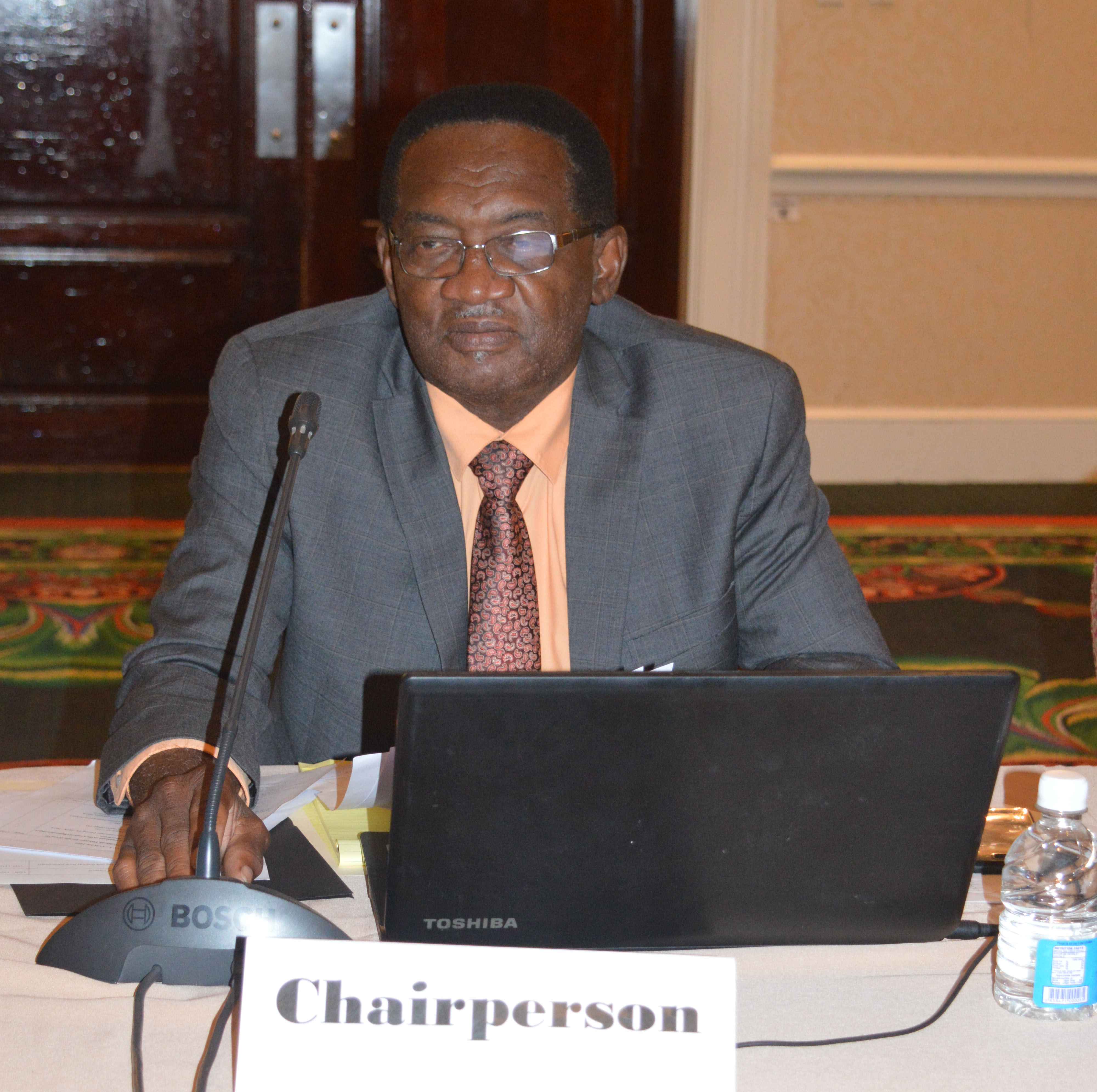 Honourable Eugene Hamilton of Saint Kitts elected as chair of the CRFM Ministerial Council Cropped