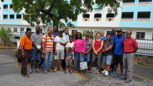 Participants in the Pacific-Caribbean Nearshore FAD Fisher Exchange are visiting three Caribbean countries and dialoguing with stakeholders on the use of Fish Aggregating Devices (FADs)