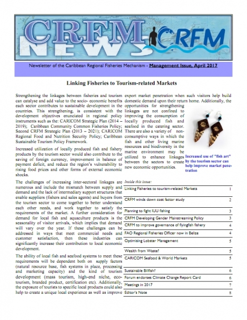 CRFM News - Management Issue April 2017