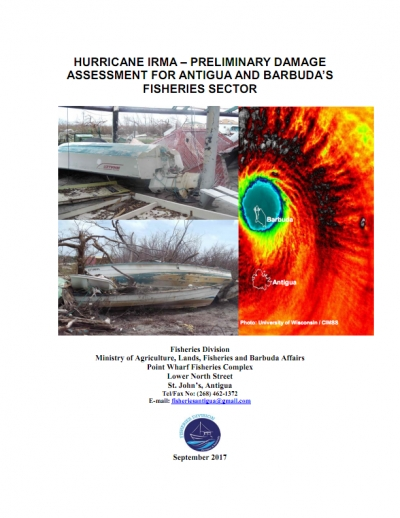 Hurricane Irma – Preliminary Damage Assessment for Antigua and Barbuda's Fisheries Sector