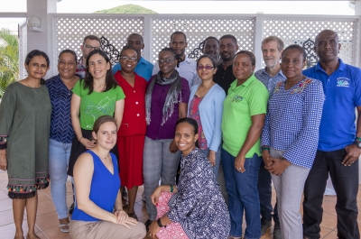 Workshop attendees included fisheries officers from Dominica, Grenada, Jamaica, Saint Lucia, Saint Vincent and the Grenadines, and Trinidad and Tobago, technical/ scientific staff from the CRFM Secretariat and UWI, and a team of consultants from ESSA Technologies Ltd